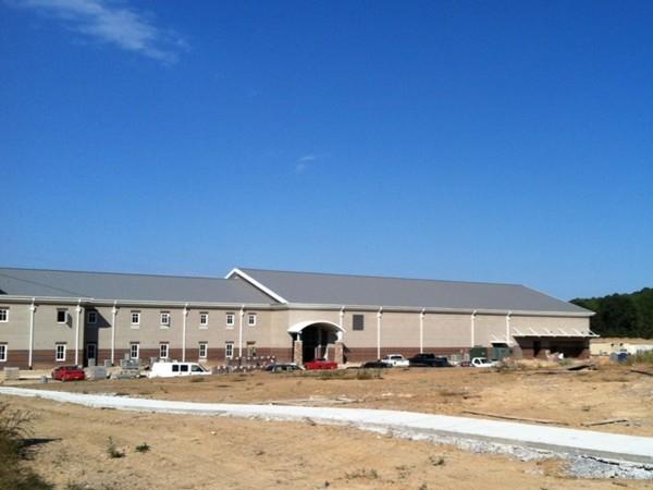 Helena High School under construction