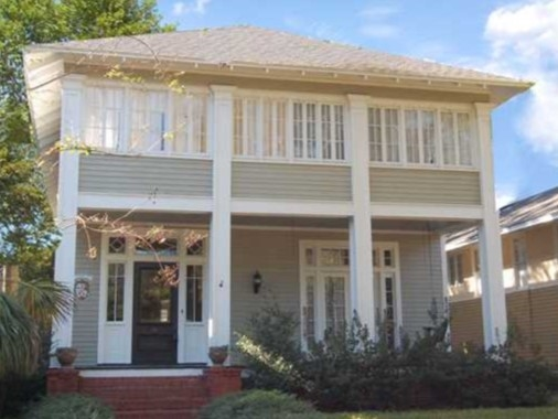 Typical Home in Old Dauphin Way Historic District