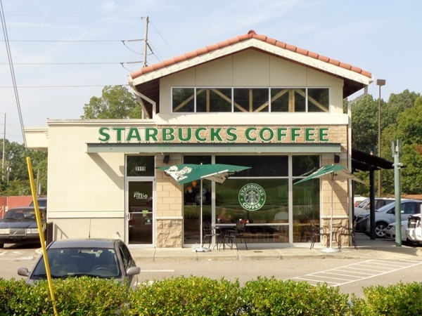 Start your morning with a Starbucks Coffee located off of Zelda Road