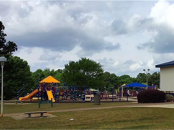 Johnny Henderson Family Park playground area