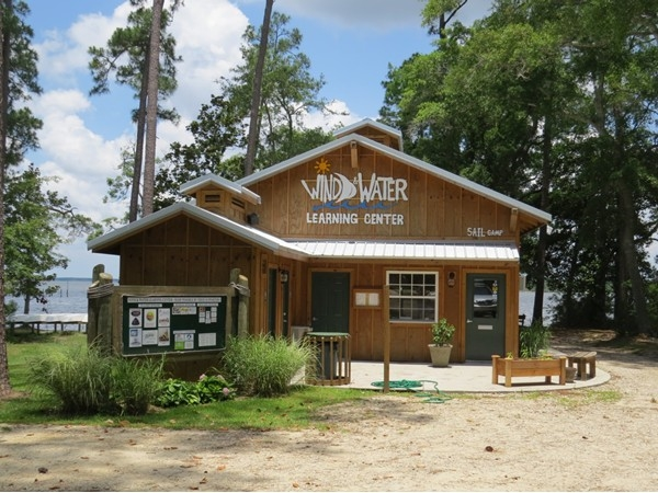 Wind & Water Learning Center, open May 2013 - new home of SAIL Camp!