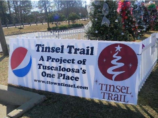 Don't miss this opportunity to see the lighted trees at the Tinsel Trail on Jack Warner Pkwy