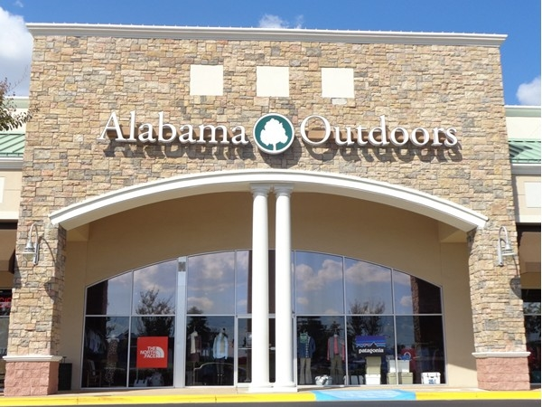 Alabama Outdoors in the Festival Plaza shopping center