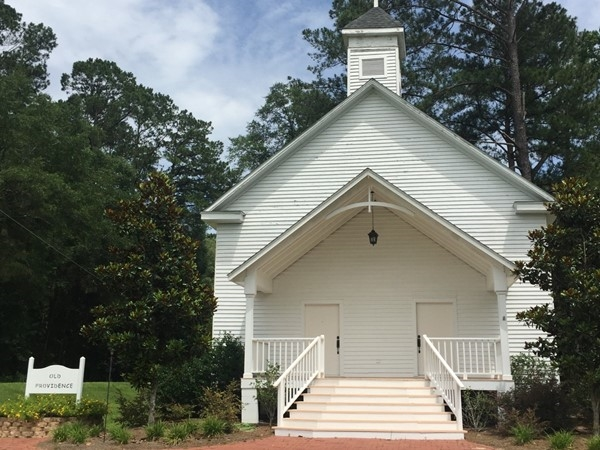 The Old Providence Chapel in Clayhatchee is now a popular wedding venue
