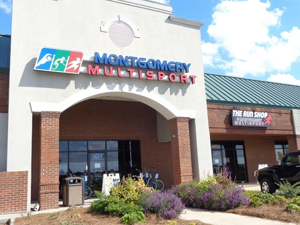 Everything you need for your healthy and active lifestyle at Montgomery MultiSport