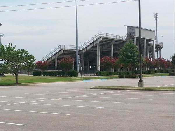 Madison's stadium supports both high school teams