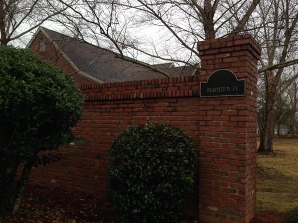 Fairfield Place entrance