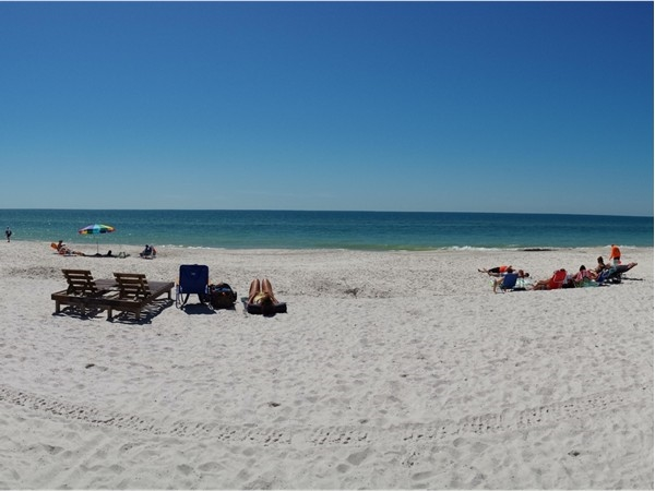 Beautiful white beach at Surfside Shores. Great views with two pools and BBQ area.