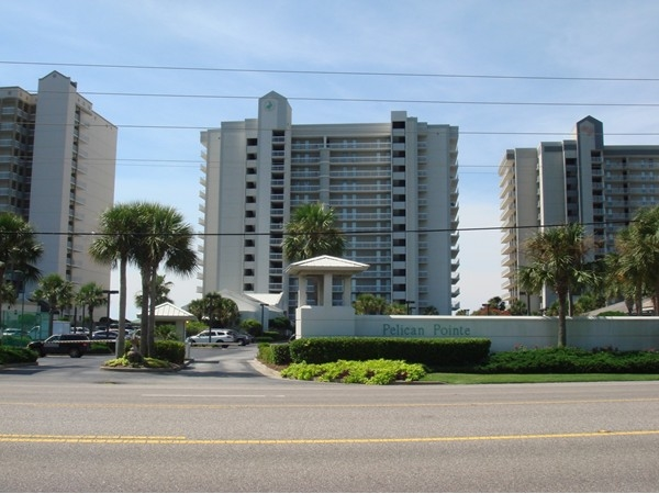 Pelican Pointe in Orange Beach complex offers great amenities along with beautiful gulf views.
