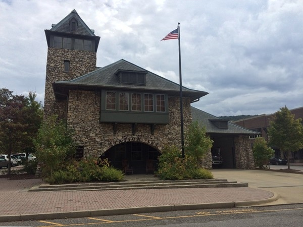 Cahaba Valley fire station at The Town of Mt Laurel