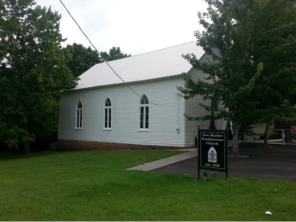 New Market Presbyterian Church was established in 1840