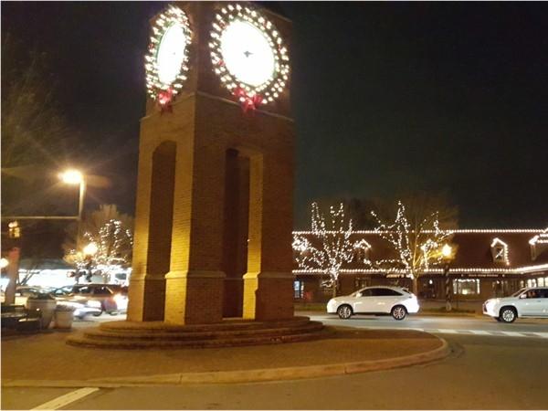 Crestline Village at Christmas