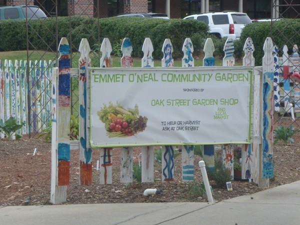 Emmet O'Neal Community Garden