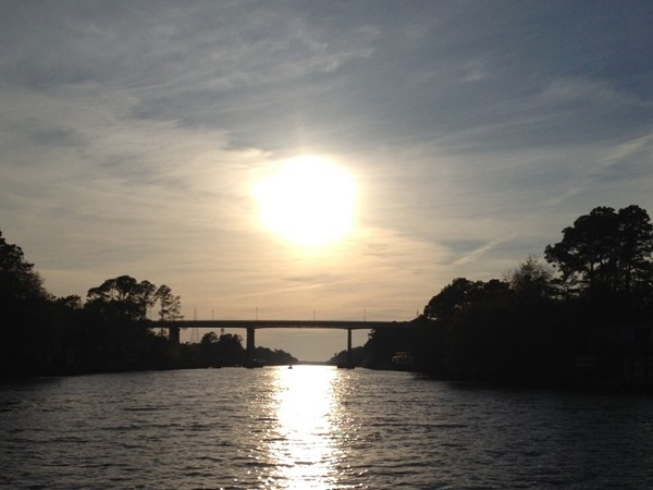 Looking for a great place for boating? Take a cruise down the canal in Gulf Shores.