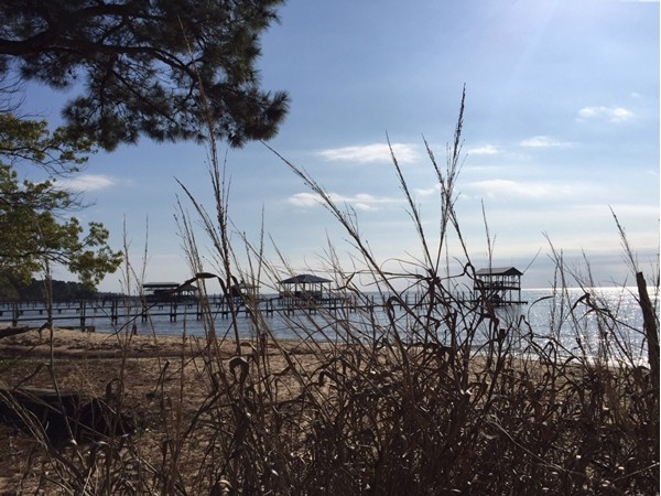 The views of the bay from Fairhope Yacht Club are always satisfying