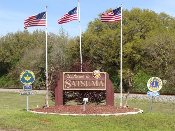 Satsuma, located off of I-65 at Exit 15, is a great place to live
