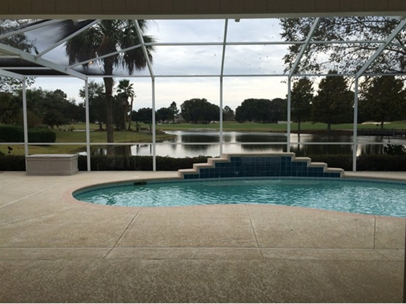 Gorgeous backyard view at this house in craft farms the for Craft farms gulf shores al