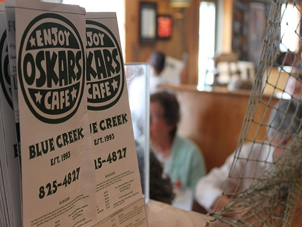 Oskars at Blue Creek is a favorite lunch spot for many