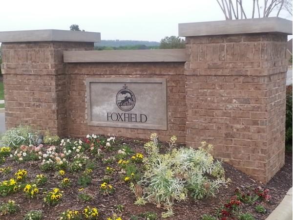 Foxfield is an elegant upscale neighborhood in Madison