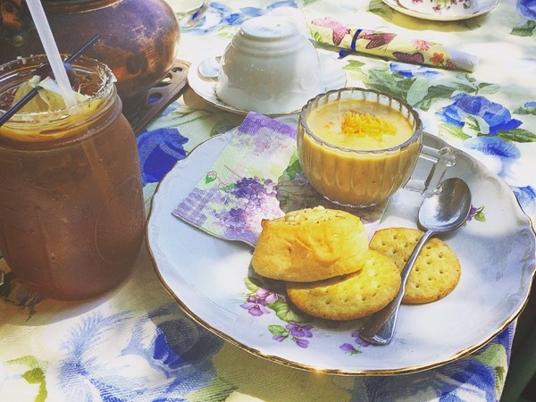 Stop by The Copper Kettle in downtown Foley for the most quaint tea house around