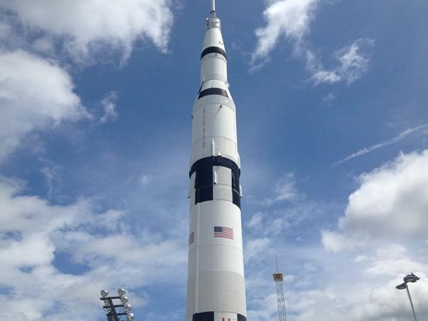 Saturn V Rocket - top half