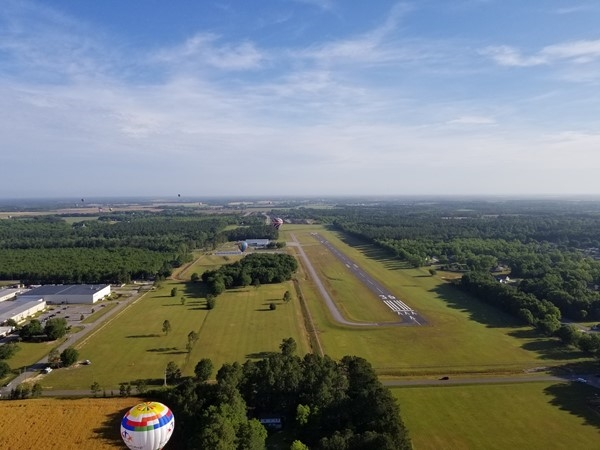 Gulf Coast Hot Air Balloon Festival - My view from above Foley