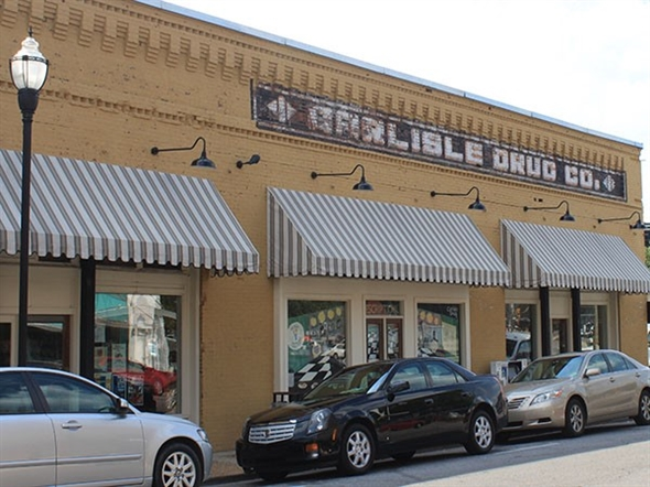 Carlisle's Drug Store has been open for more than 100 years. It is a downtown icon