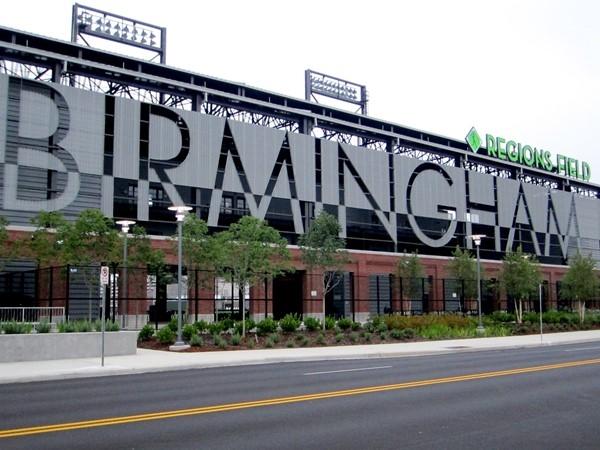 Birmingham's new Region's Field across from Railroad Park