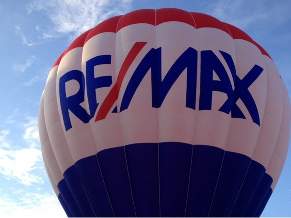 The RE/MAX balloon will be ready to fly at the Hot Air Balloon Festival on Memorial Day weekend