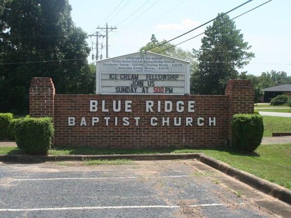 Another lovely church in Wetumpka, AL