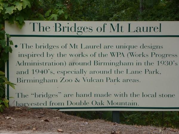 History of the Mt. Laurel bridges