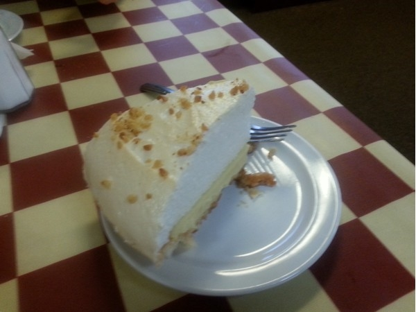 Huntsville's southern hospitality and our peanut butter pie. Warning: Both are very addictive!