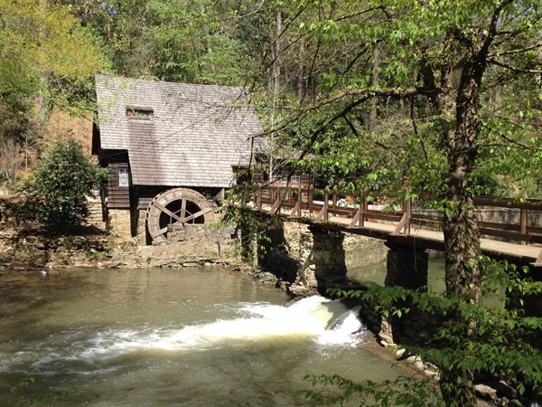 The old Gristmill on Mountain Brook Parkway