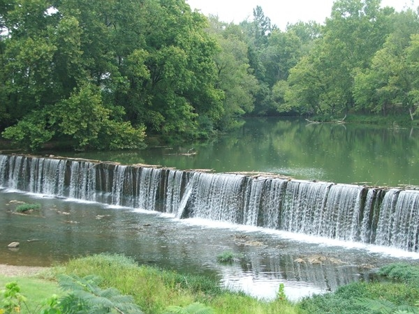 Come play by the waterfall on the Cahaba River