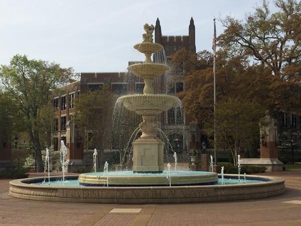 University of North Alabama - Fountain at Harrison Plaza