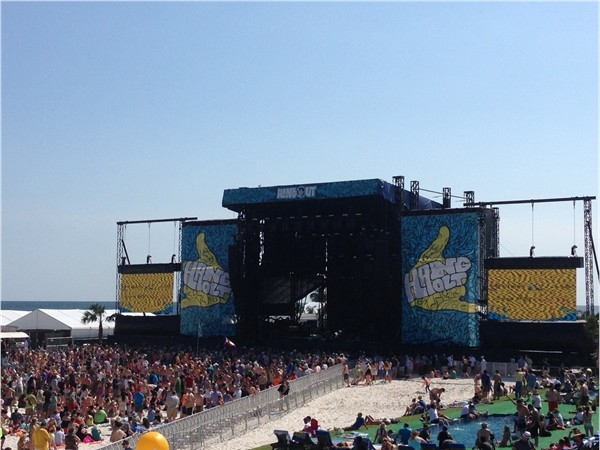 Hangout Music Fest - the weather could not have been better this year!