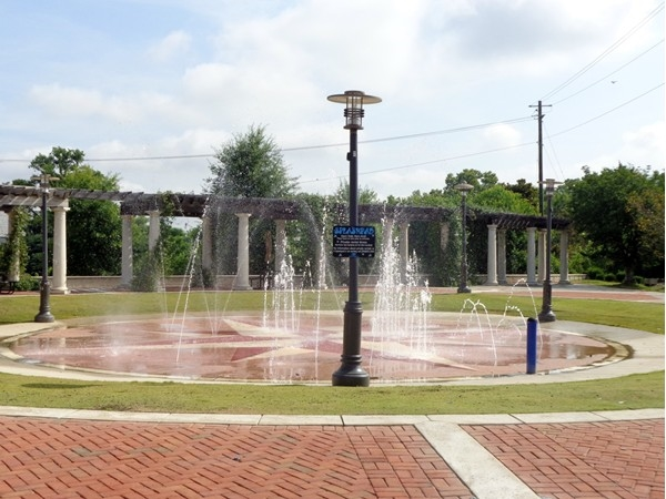Splash Pad in Downtown Montgomery would be great for the kiddos during this hot Alabama summer