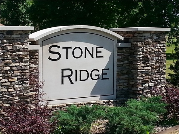Stone Ridge Community is off of Hughes Road very near Discovery Middle School in Madison