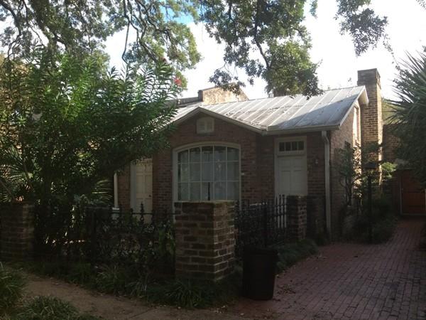 A quaint house on Monroe Street