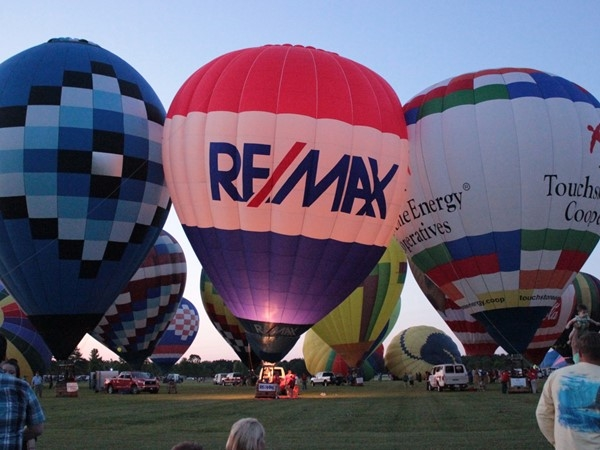 Rise above at Balloon Fest in beautiful Foley