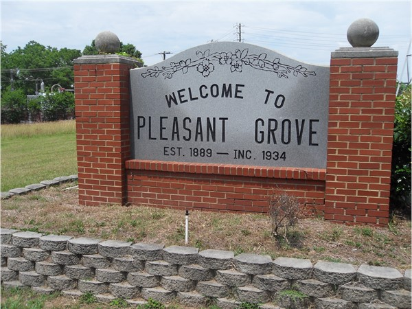 Welcome to Pleasant Grove