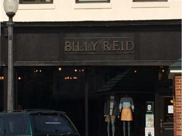 Designer Billy Reid has a beautiful store in historical downtown Florence.