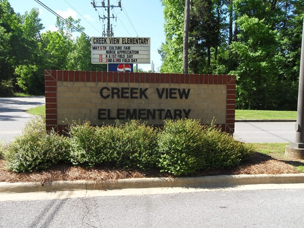 Welcome to Creek View Elementary
