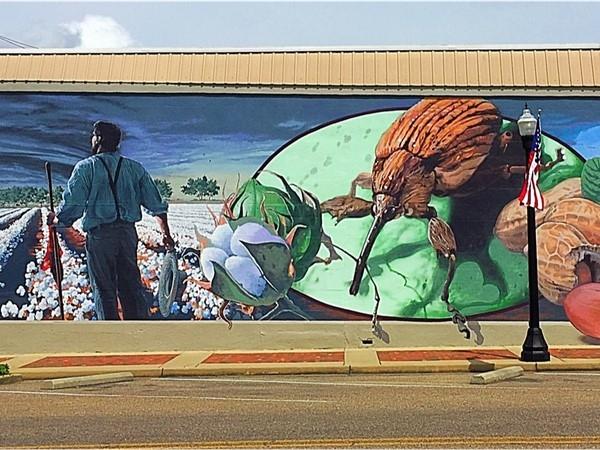 Boll Weevil Mural