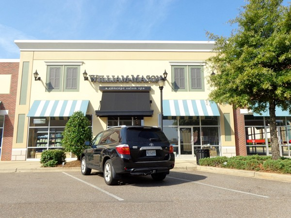 William Mason Salon located at the Prattville High Point Town Center