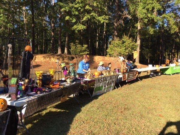 City of Wetumpka Candy Walk at Gold Star Park