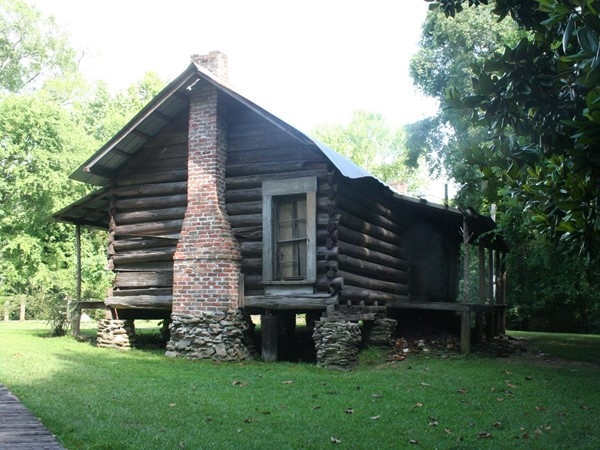 Beautiful cabin located in Gold Star Park is used as a location for many pictures and occasions