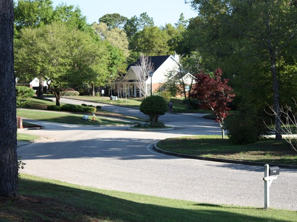 Wakefield subdivision, located in the Spanish Fort School district