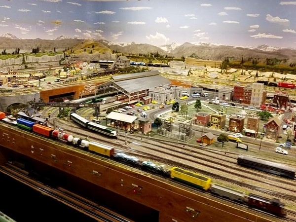 Foley Railroad  Museum is a free museum that has a huge remote controlled train
