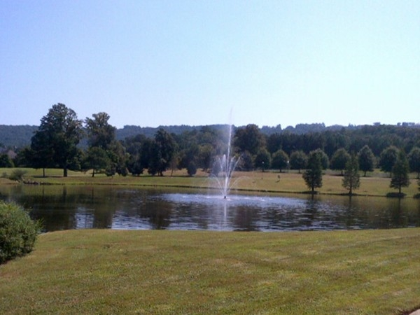 Water hole at The Legacy Golf Course